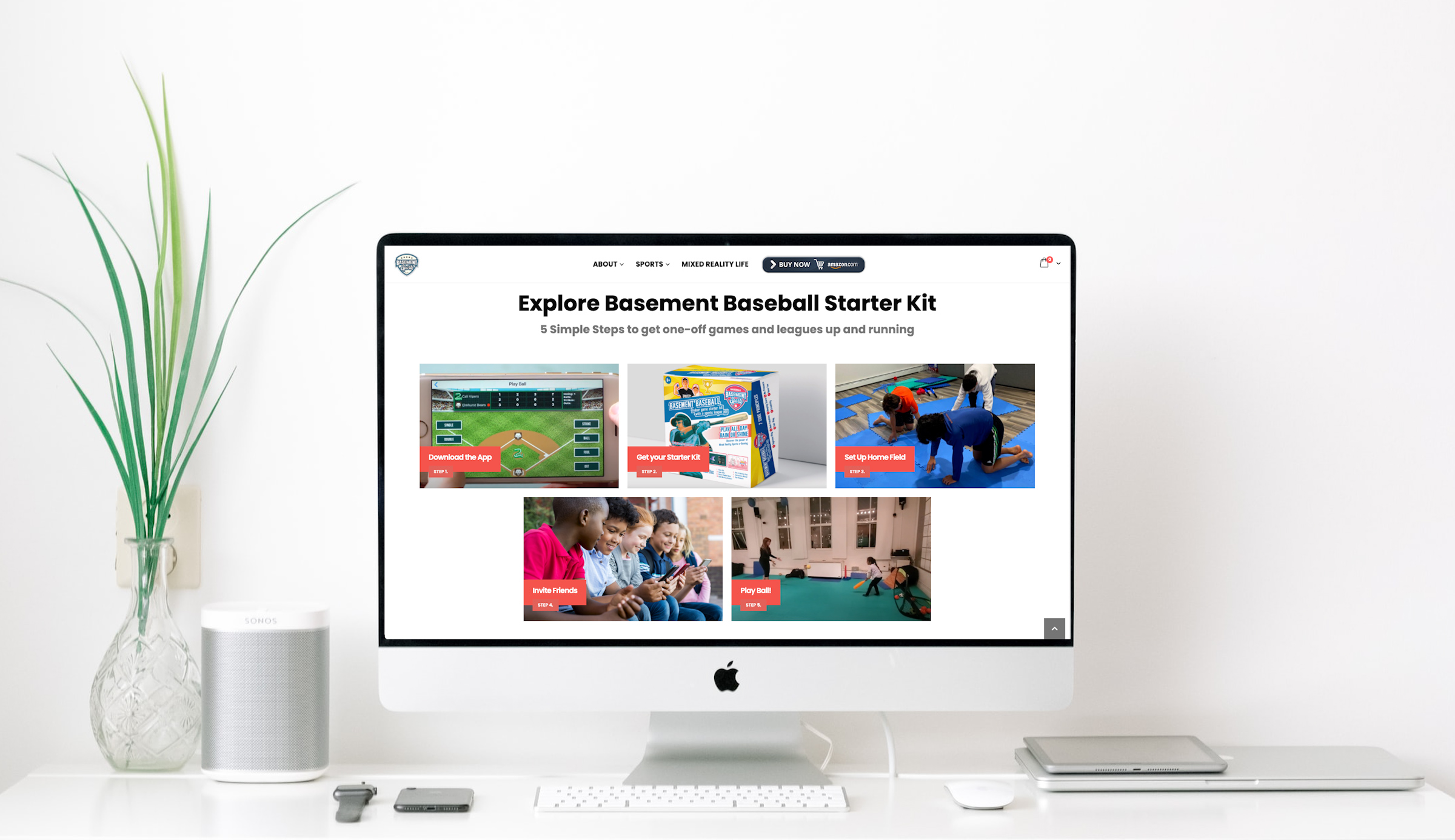Remote Work Environment of Basement Sports